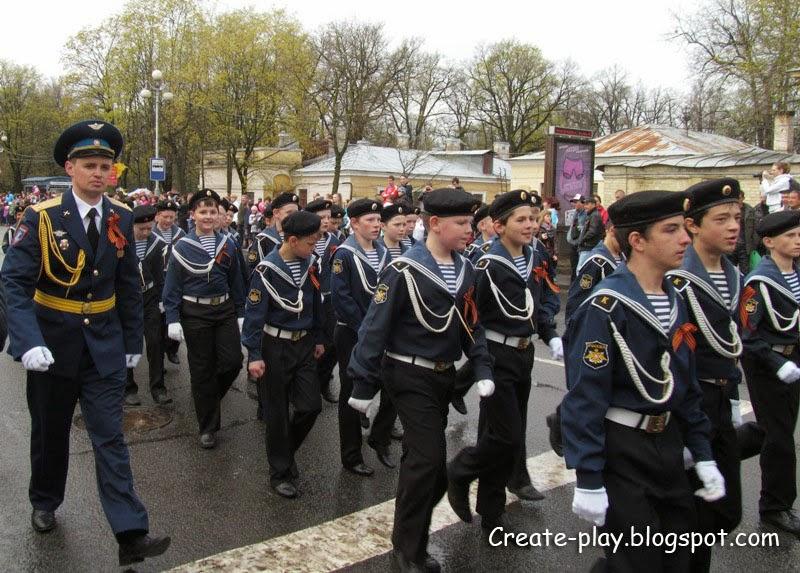 День Победы в Гатчине
