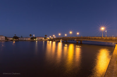 Copyright Vernon Chalmers: Main Bridge Before Sunrise - Woodbridge Island Cape Town