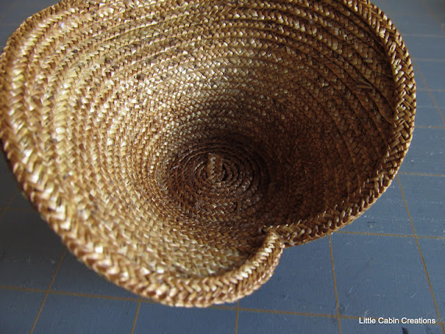how to make a straw bonnet
