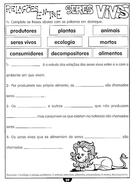 Conhecido Atividades sobre as plantas ou vegetais: partes, necessidades, as  PI97