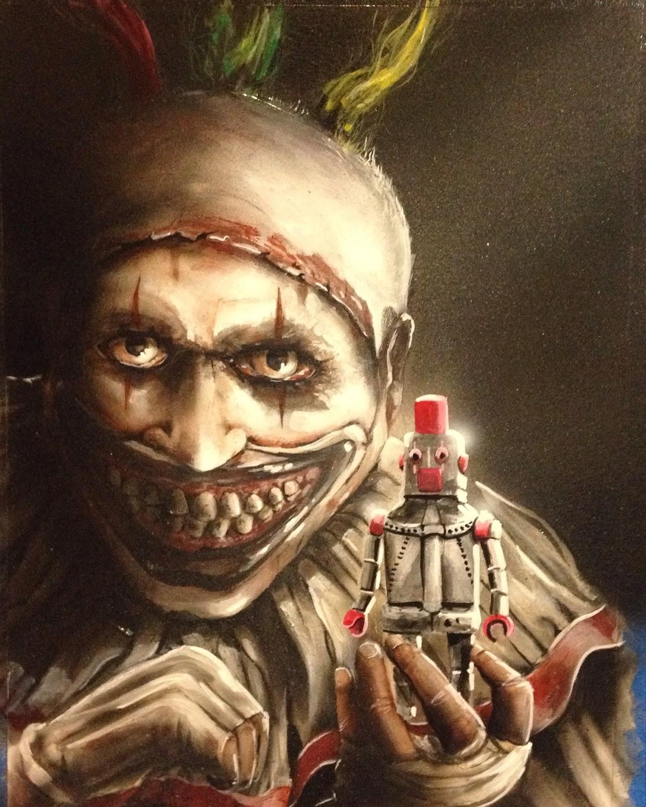 Horror: American Horror Story Fan Art Exhibition Photos @AHSFX