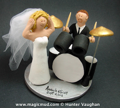 drummer wedding cake topper estilo moda wedding bespoke bridal fashion for the 13755
