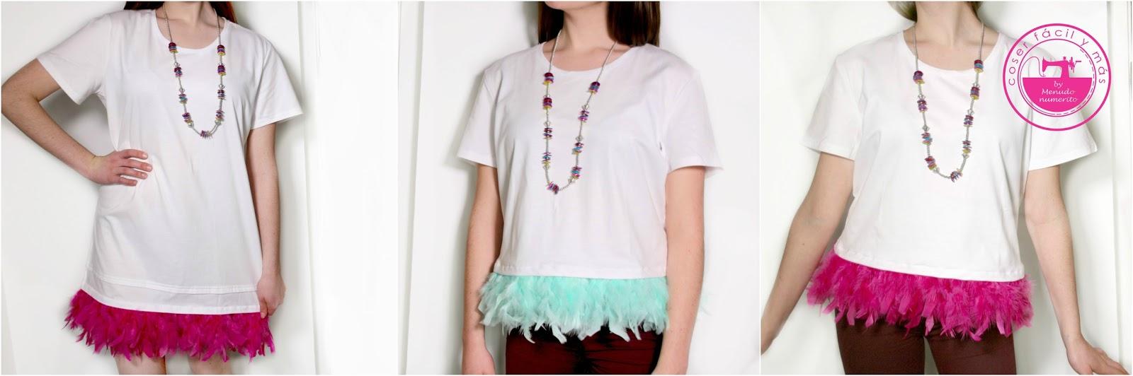 El blog de coser f cil y m s by menudo numerito costura creativa - Decorar camisetas basicas ...