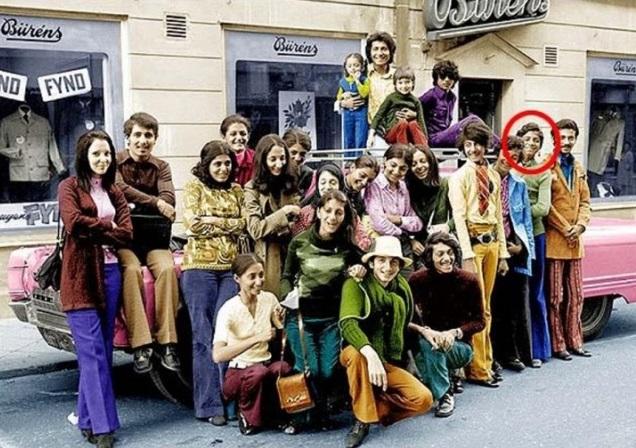 La infancia de Osama Bin Laden, foto tomada en el año 1970. Fotos insólitas que se han tomado. Fotos curiosas.