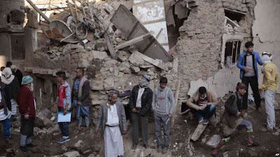 Nine people killed, nearly dozen injured as Saudi-led jets hit bus in Yemen