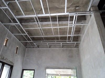 harga kanopi baja ringan per meter persegi 085370366883 pasang plafon gypsum ...