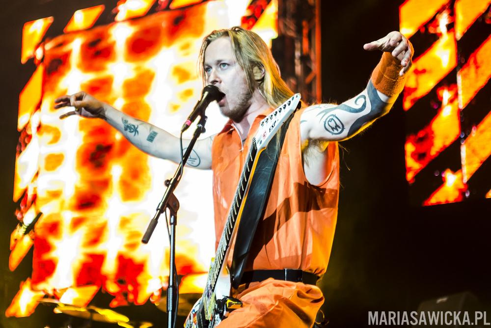 Antti Hyrde Hyyrynen Sakara Tour 2016 Espoo esp guitars