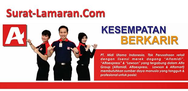 Info Lowongan Kerja PT. Midi Utama Indonesia - ALFAMIDI Juli 2017