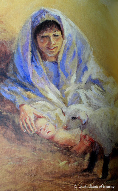 Advent Book: The Crippled Lamb | by CustodiansofBeauty.blogspot.com