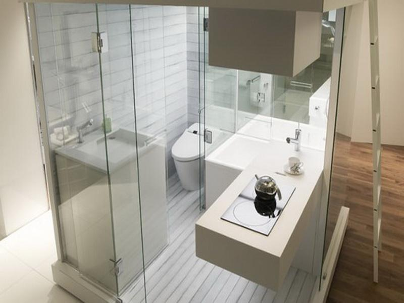Small Bathroom Model With Nice Furniture For Limited Space ... on Model Bathroom Ideas  id=67877