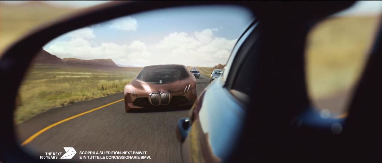 Testo spot BMW Next 100 e Musica Pubblicità