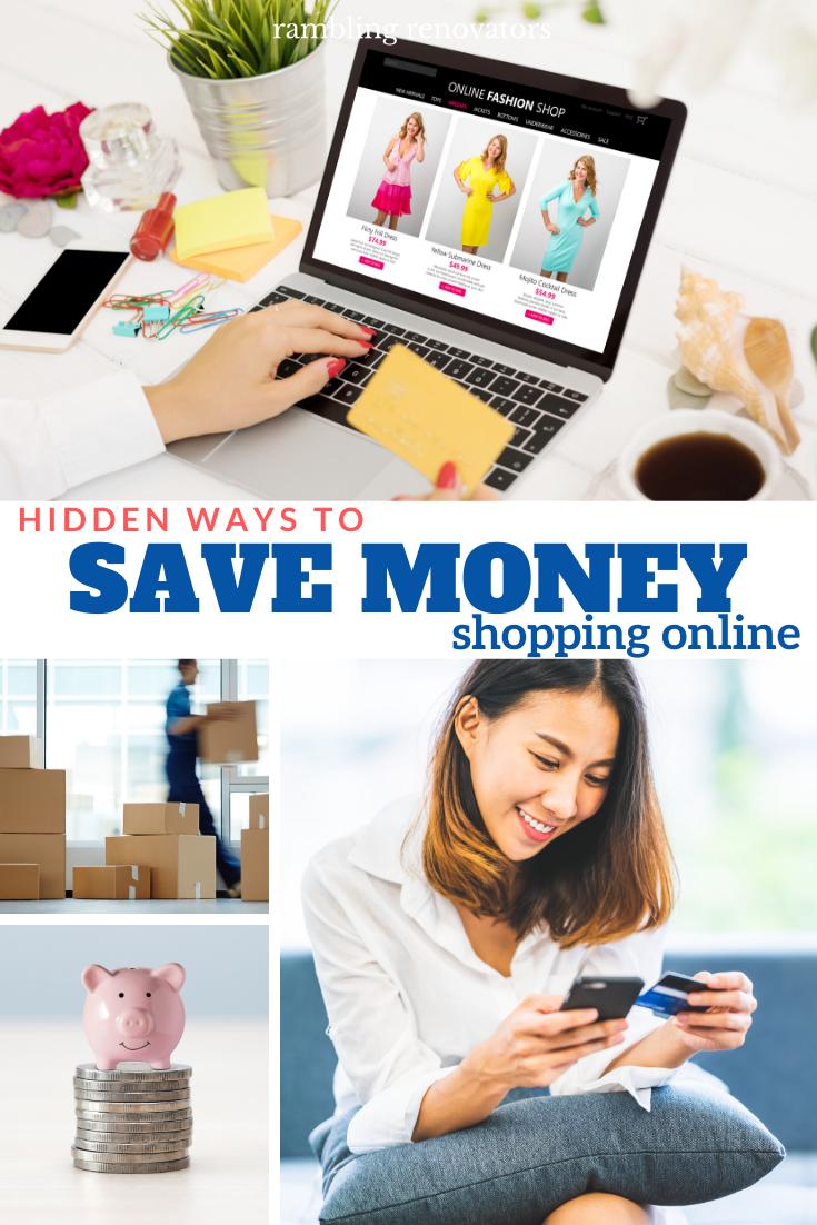 save money shopping online, online shopping tips, how to save money, money saving tips, how to save online