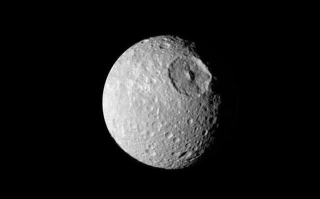 El inmenso cráter Herschel