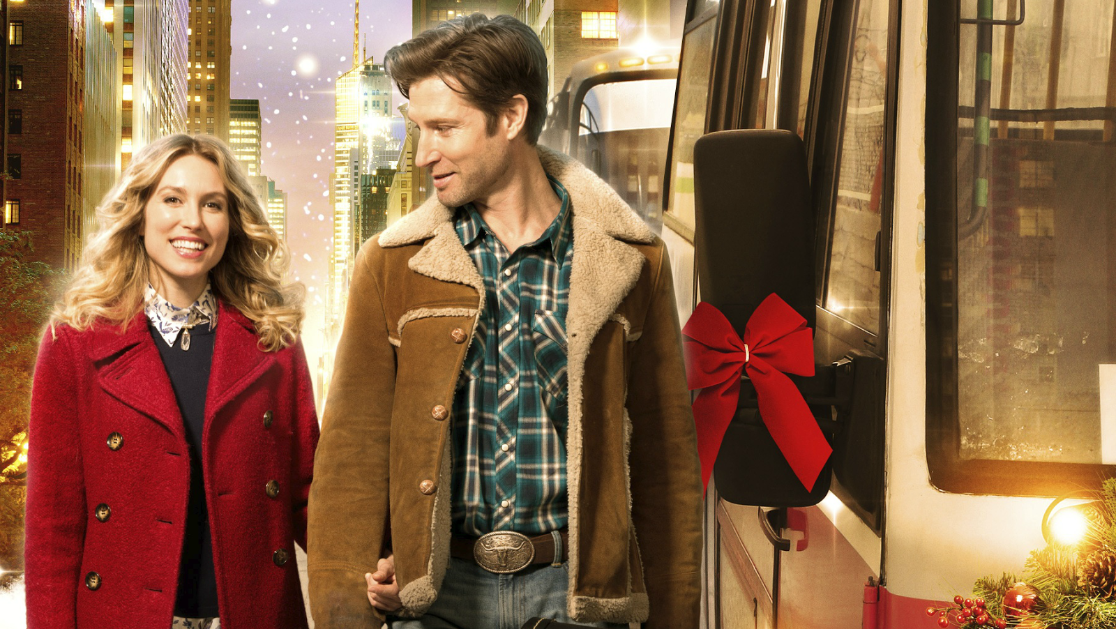 Promotional Art for the Hallmark Channel Movie - One Starry Christmas