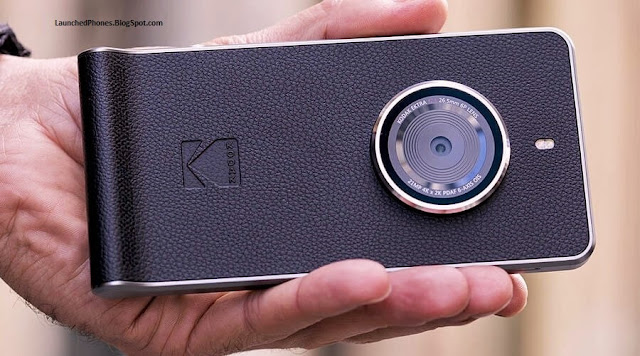 launched its novel smartphone later on getting the license of mobile selling Kodak Ektra smartphone launched amongst 21 MP bring upwards camera.