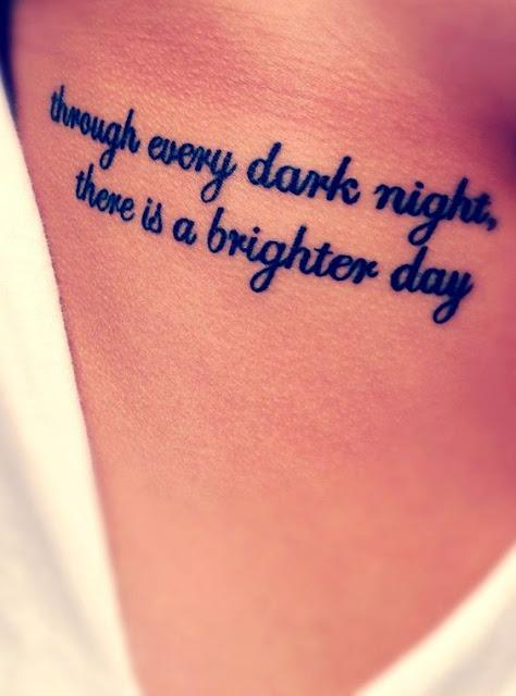 Quot Tattoo on Rib Side