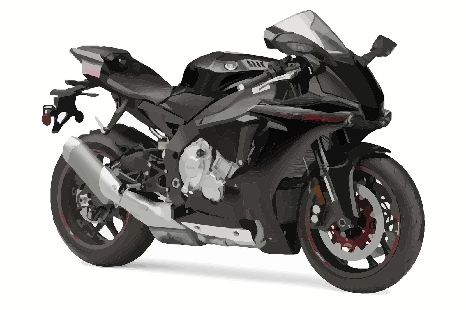 Cars Base: Yamaha R1 Turbo Streetfighter Translucent 250HP!