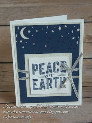 Make this cute card with the Carols of Christmas stamp set and Card Front Builder Thinlet dies by Stampin' Up!