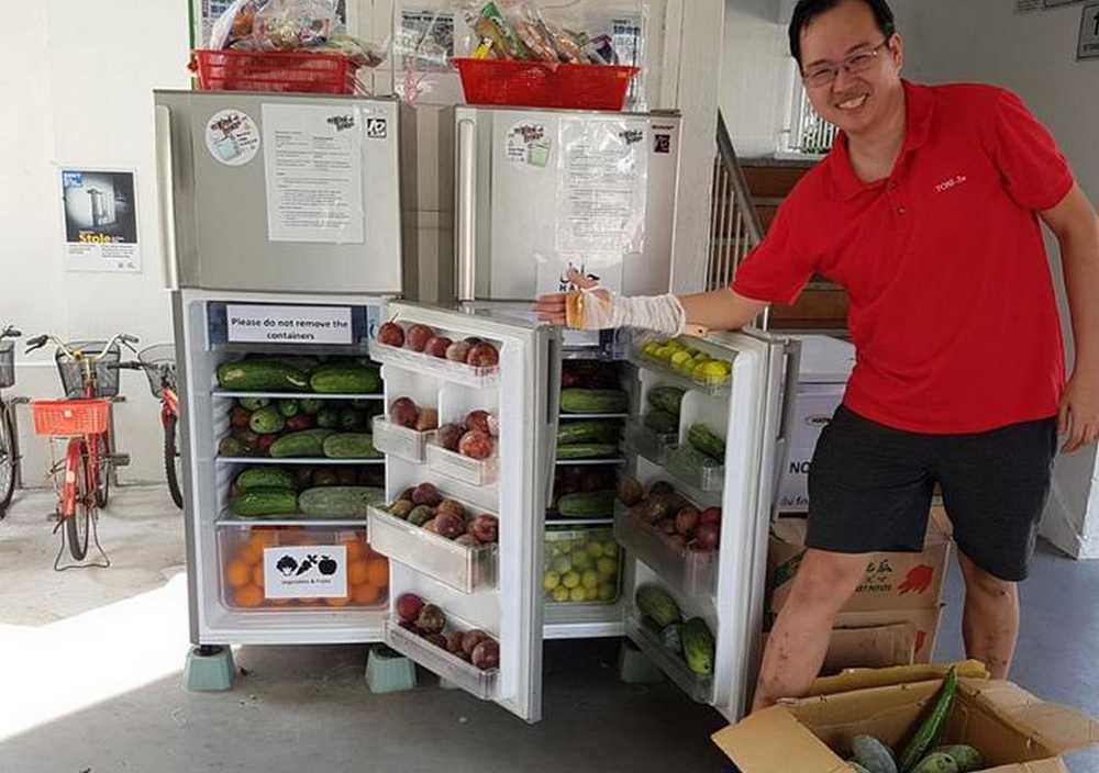 Daniel Tay mempunyai Kulkas Penuh Buah dan Sayur (asianmoneyguide.com)