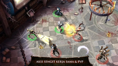 game hack and slash dungeon hunter 4