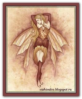 "HAED HAEJG191 ""Gemstone Fairy—Amber"""