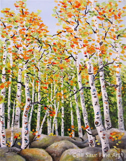 tree art, colorado art, atlanta art galleries, jill saur