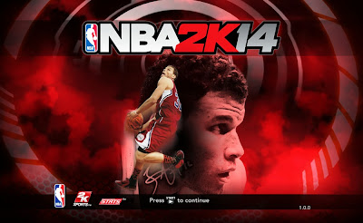 NBA 2K14 Blake Griffin Game Cover Screen Mod