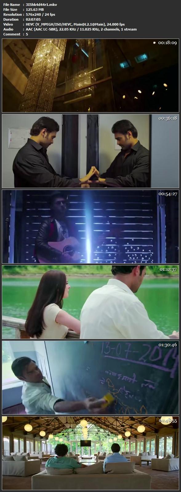 Ishqedarriyaan (2015) Bollywood Hindi Movie PreDvDRip HEVC 100MB 150MB 200MB MKV AVI Downloading