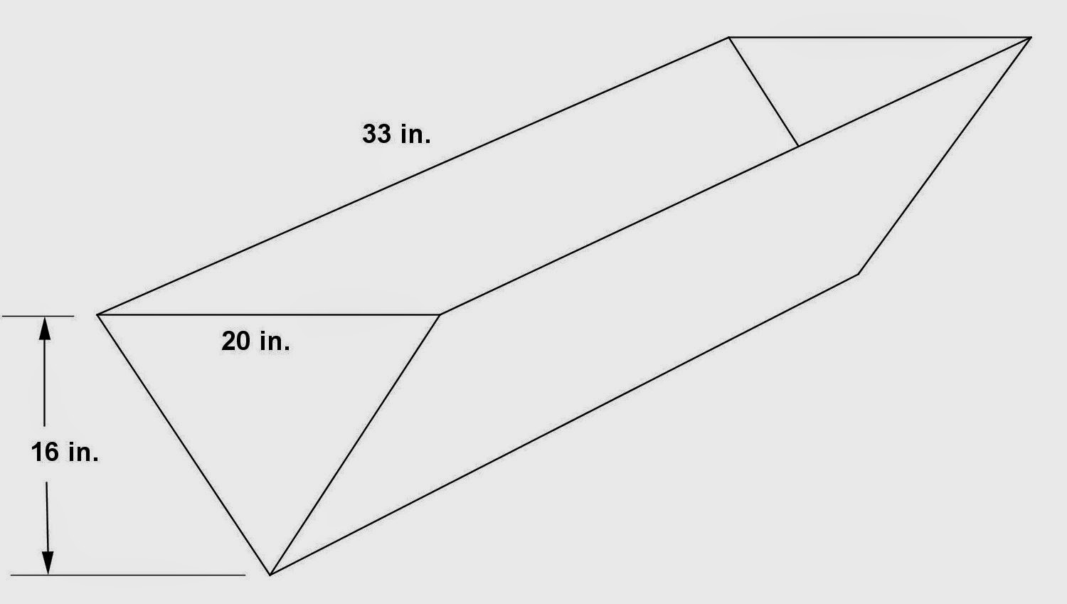 Math Principles: Triangular Prism Problems, 4