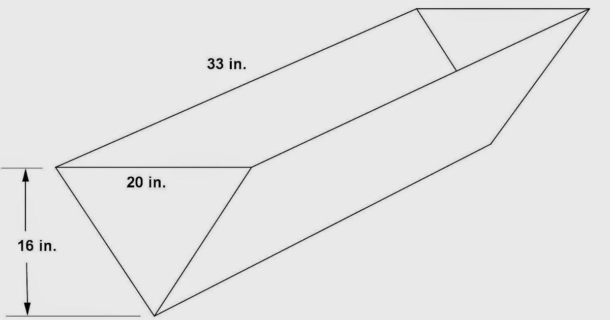 Math Principles: Triangular Prism Problems, 4