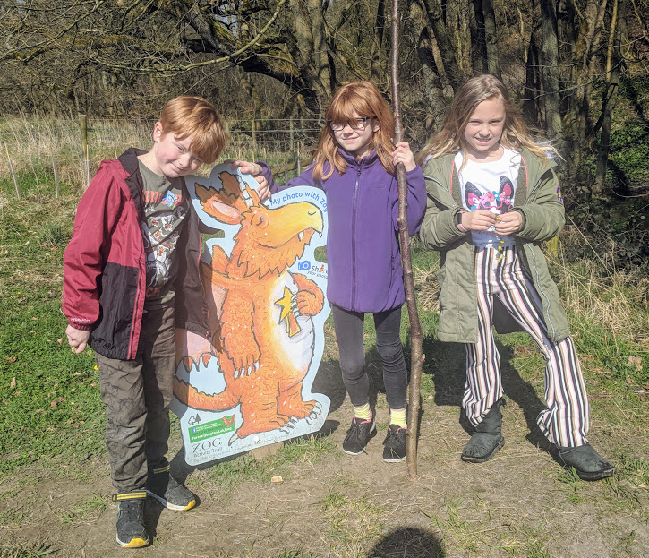 A Chilled Weekend Break with Friends & Tweens in North Yorkshire  - Dalby Forest Zog Trail