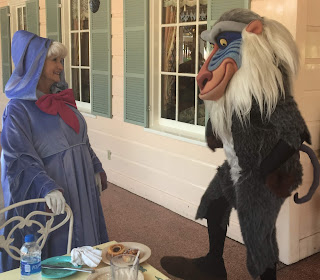 Rafiki and Fairy Godmother Plaza Inn