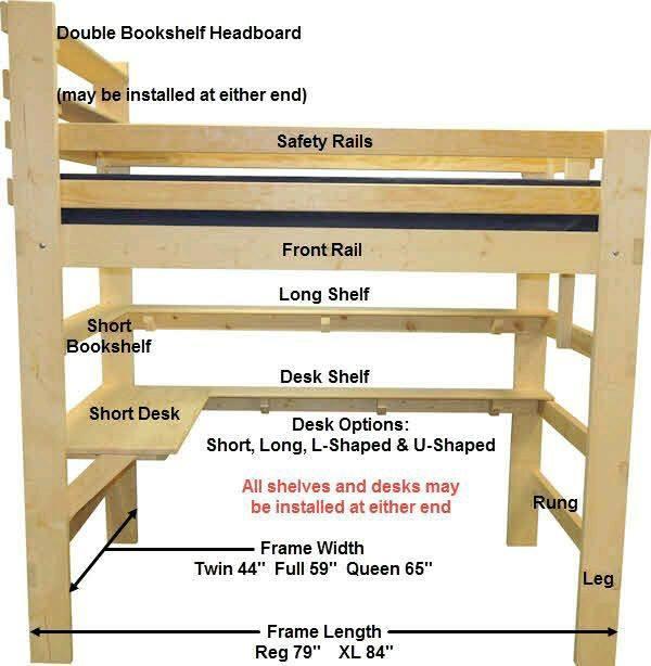 Planos De Camas Y Literas Para Carpinteros Construccion