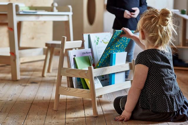 libros estanterías madera