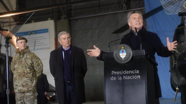 Macri anuncia reforma para modernizar las Fuerzas Armadas