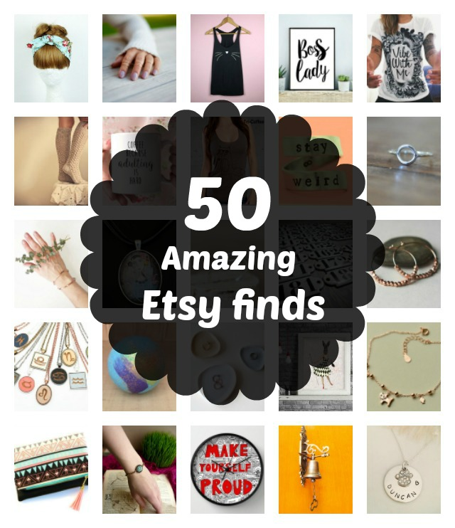50 amazing etsy finds