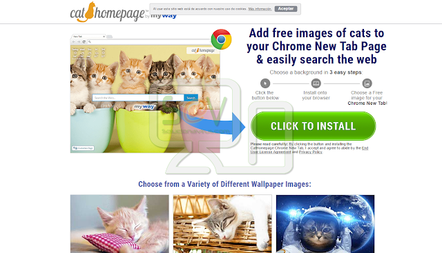 CatHomepage Toolbar