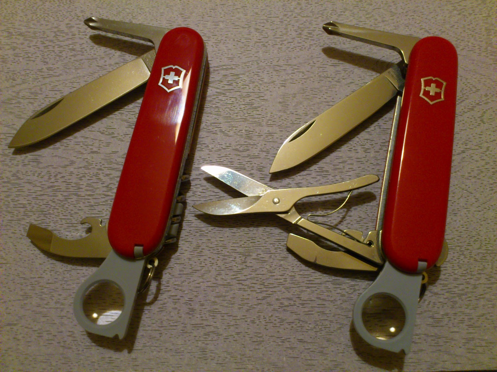 Mario S Swiss Army Knives Victorinox Scientist And Yeoman