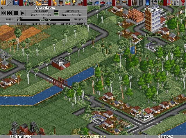 Screenshot of Transport Tycoon Deluxe