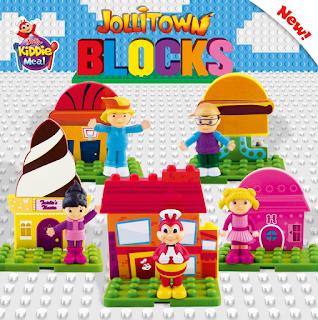 Jolly Kiddie Meal Jollitown Blocks