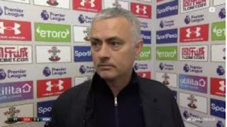 Manchester United Portuguese boss Jose Mourinho has taken a dig at Arsenal's style in the final minute's clash at Old Trafford,by saying  they dived and wasted time.