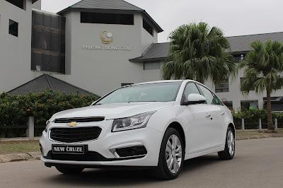 Giá xe Cruze 2017 mới nhất tại đại lý bán xe Chevrolet chính hãng.