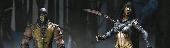 Mortal Kombat X - Personagens novos e antigos