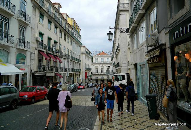 Bairro do Chiado, Lisboa, Portugal