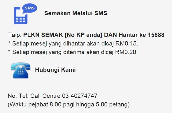 Semakan Nama Pelatih PLKN 2016 SMS