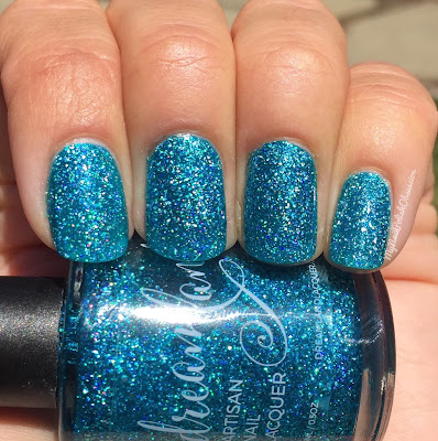 Dreamland Lacquer: #Autocorrect Collection, Blue Suede Stews