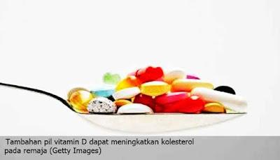 Suplemen Vitamin D Sanggup Meningkatkan Kolesterol Pada Remaja