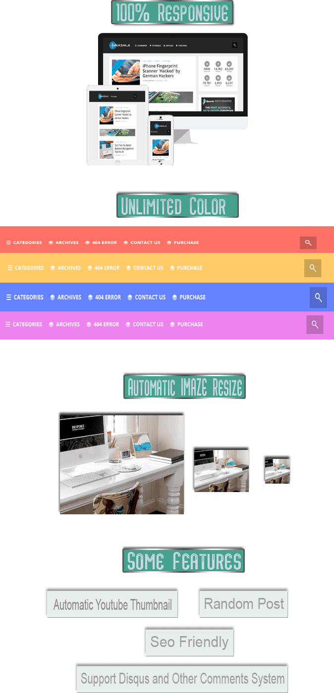 masala wordpress blogging theme