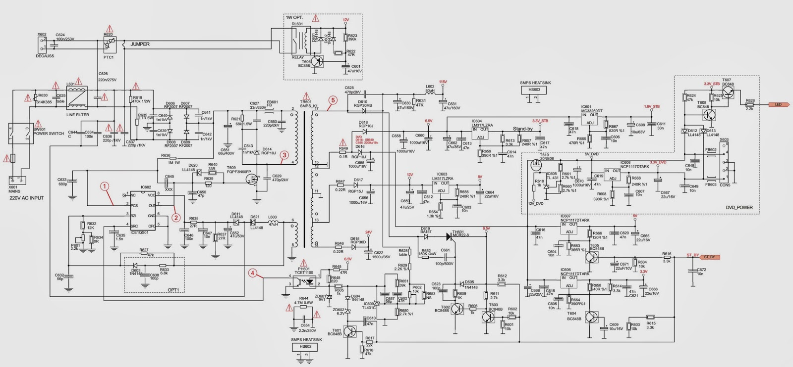 smps power supply circuit diagram further smps power supply circuit wiring harness engine module 35493 fits bmw 1 series e82e88 [ 1600 x 742 Pixel ]