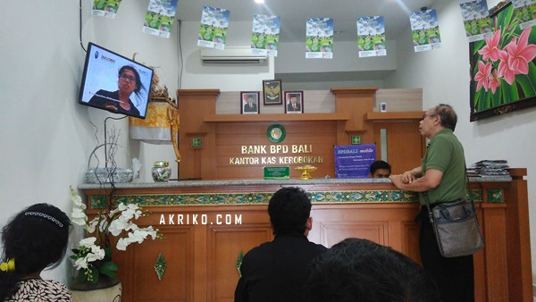 Mencairkan Pendapatan GA via Western Union di Bank BPD Bali